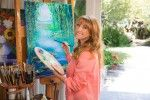 Sculptor And Actress Jane Seymour Is Visiting The Paramount In St. Cloud
