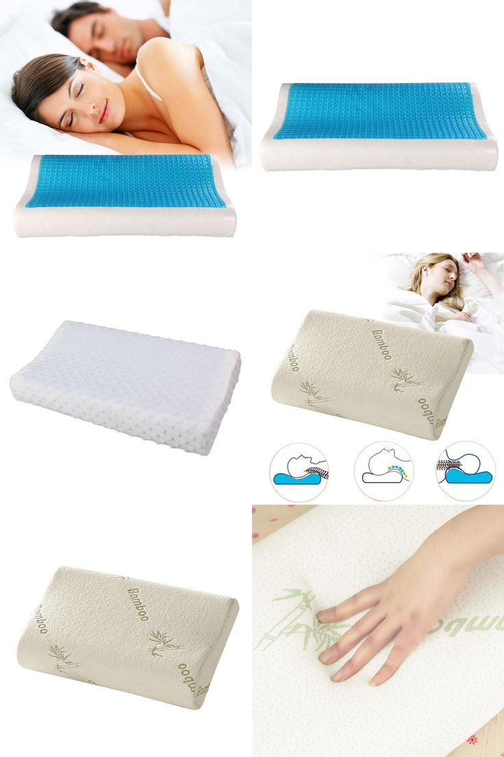 [Visit to Buy] Comfort Memory Foam Space Pillow Slow Rebound Orthopedic Pillow Neck Rest Magnetic Healthcare Pillow Travesseiro ortopedico PTSP #Advertisement