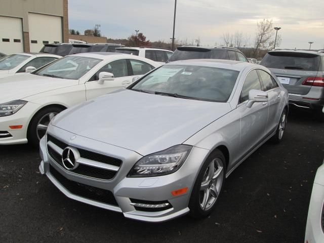 2014 Mercedes-Benz CLS-Class CLS5504MATIC AWD CLS550 4MATIC 4dr Sedan Sedan 4 Doors Gray for sale in Fayetteville, NY Source: http://www.usedcarsgroup.com/new-mercedes_benz-cls_class-for-sale