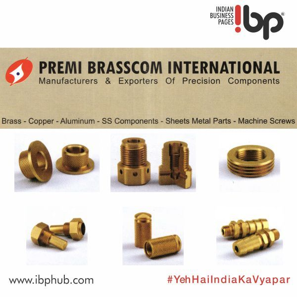 Premi Brasscom International Is Manufacturer And Exporter Offer Electrical Parts Precision Brass Components Electr Electronic Parts Manufacturing Electricity