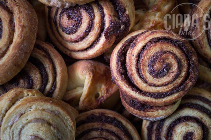 Chcocolate swirls/cinnamon swirls