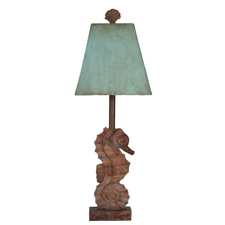 Coastal Seahorse Lamp