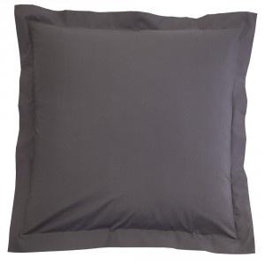 Grey European Pillowcase Pair