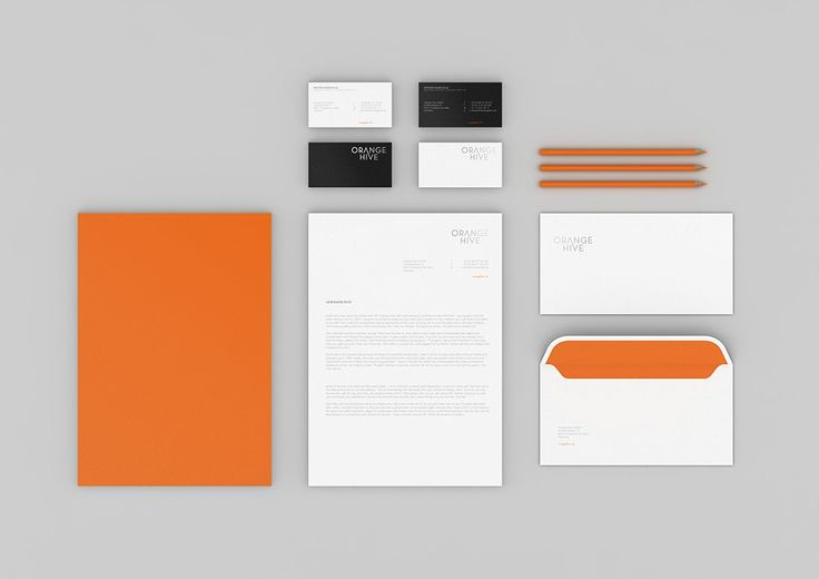 Branding for 'Orange Hive' by Emanuele Cecini