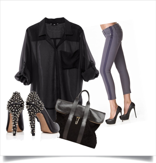 """""""tuxedo jeans"""" by sarahghag on Polyvore"""