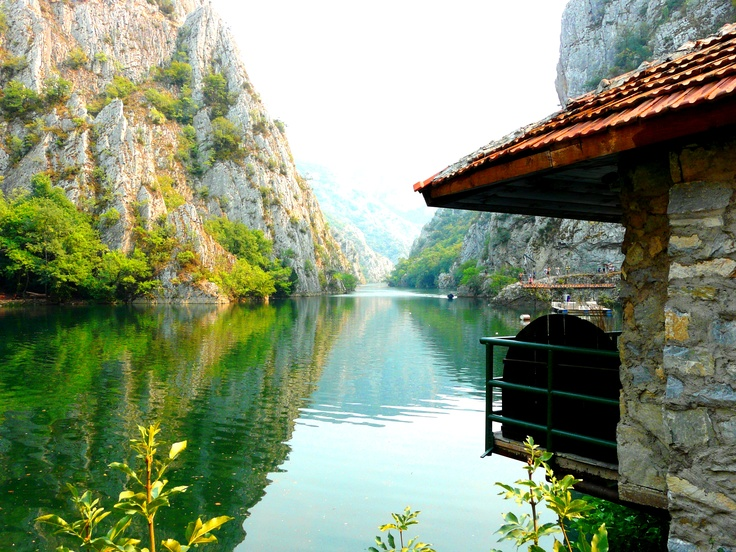 Matka Canyon, Skopje Macedonia - Interrailing plans