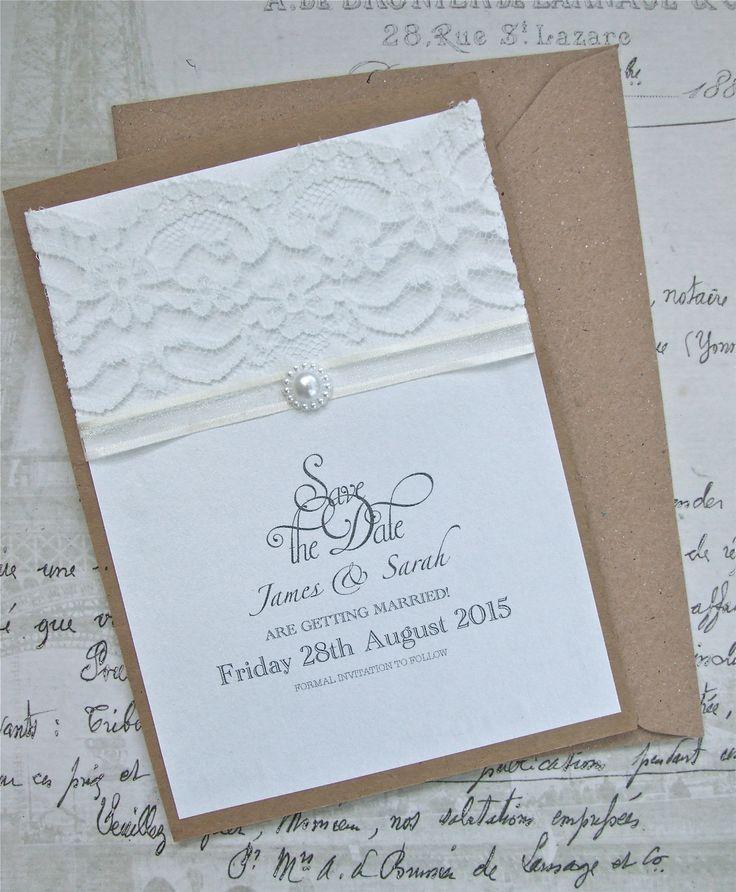 246 best Wedding invitations images on Pinterest | Cards, Wedding ...