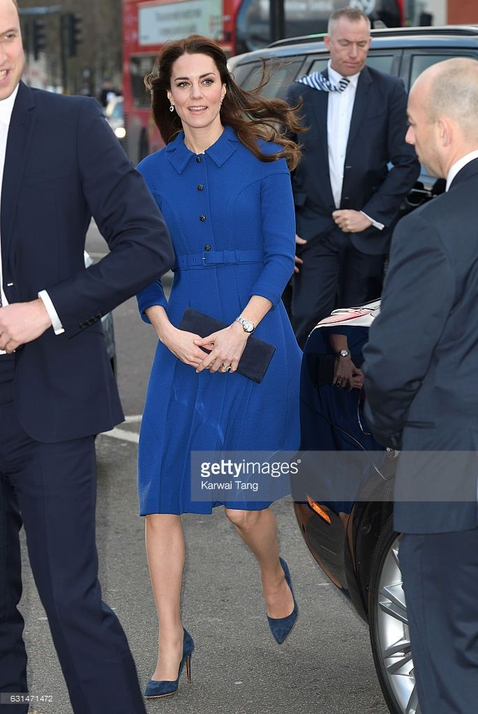 Catherine, Duchess Of Cambridge visits a Child Bereavement UK Centre at CBUK in Stratford on January 11, 2017 in London, England.
