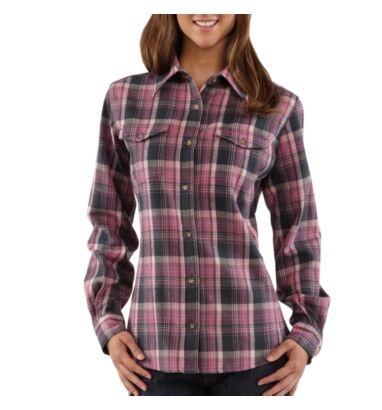 Carhartt - Women's Flannel Shirt:  Love these shirts, heavy duty but still soft