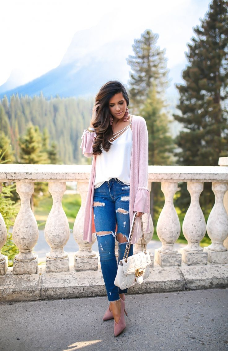 Styling Distressed Denim Into Fall + Special Discount For You All! – The Sweetest Thing