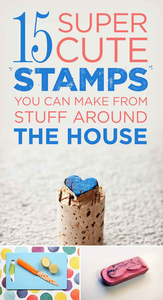 15 Really Random Things That Make Adorable Stamps