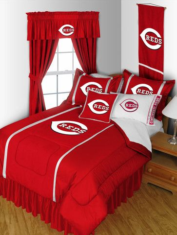 Cincinnati Reds Bed Sheets