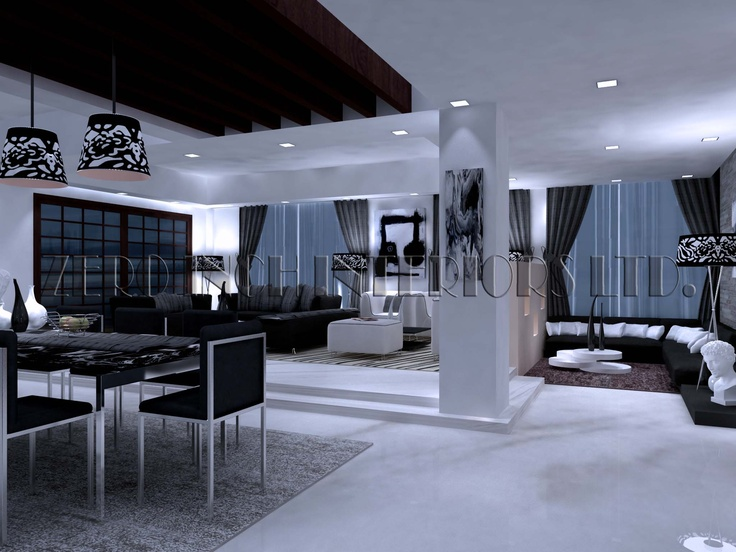 BLACK ICE DUPLEX HOUSE IN DHAKA BANGLADESH WEBSITEzeroinchinteriorsltd