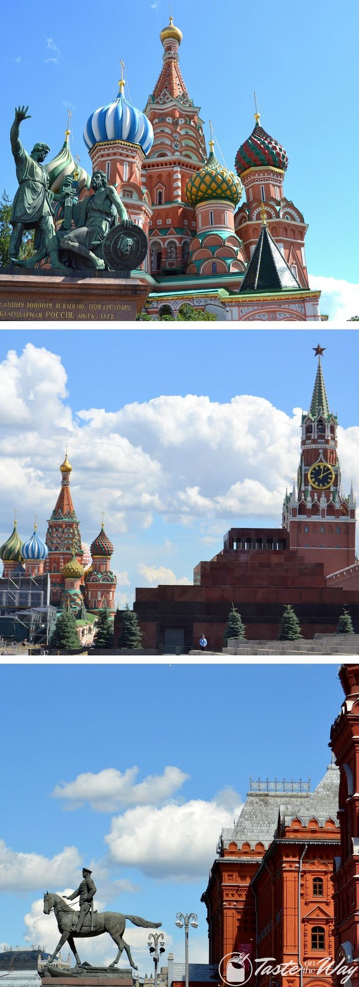 Check out our travel story about the Saint Basil's Cathedral in Moscow with pictures @tasteontheway
