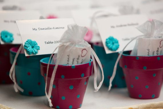 Small Painted Pots