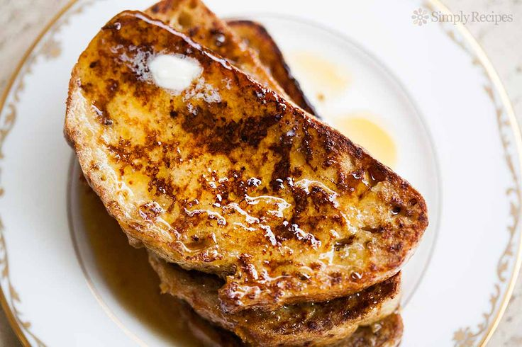 The perfect breakfast! The BEST French Toast, fluffy and tender on the inside, gloriously browned on the outside. This recipe takes it to a whole new level with a couple surprising ingredients. On SimplyRecipes.com