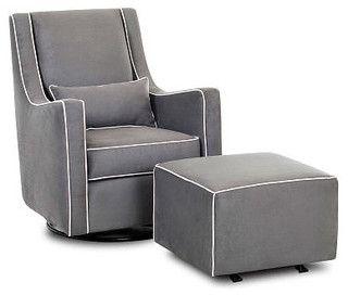 Nursery Glider - modern - rocking chairs and gliders