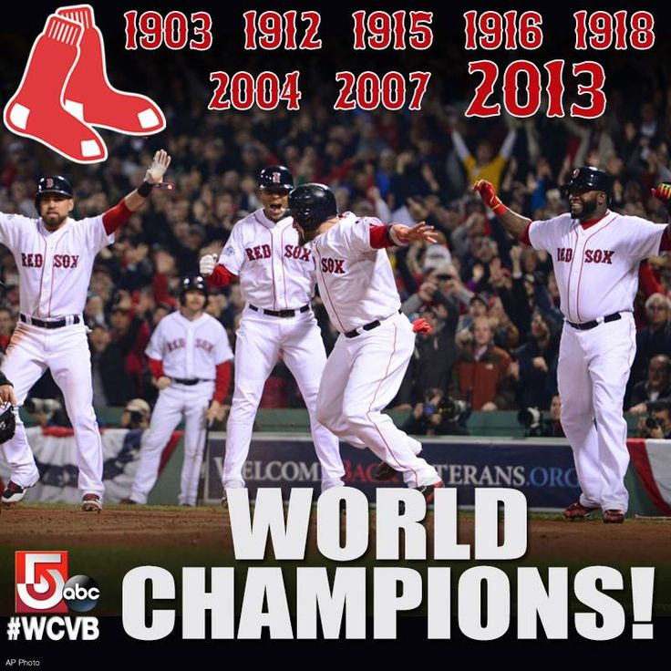 The Boston #RedSox are the 2013 #WorldSeries Champions! SHARE the great news!!
