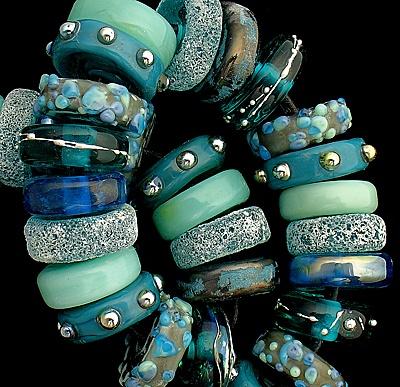 DSG Beads Handmade Organic Lampwork Glass Siren | eBay