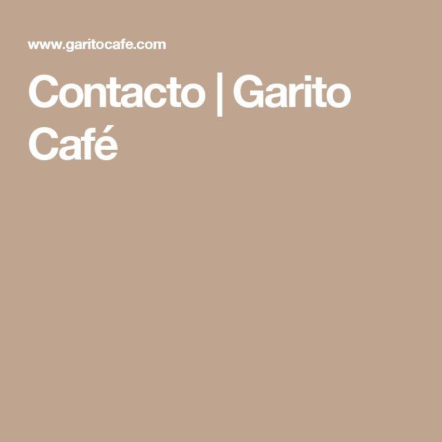 Contacto | Garito Café