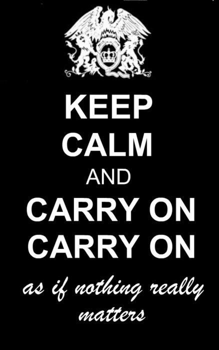 Bohemian Rhapsody.... I need this on a shirt!!!!!! Now!