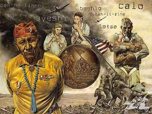 Remebering the Code Talkers...