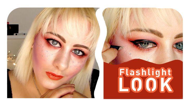 Flashlight makeup look - Tutorial
