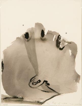 Marlene Dumas The fog of war (50/80) 2009-11 / SW / 106.400 ZAR 2008-04 / SW / 286.000 ZAR