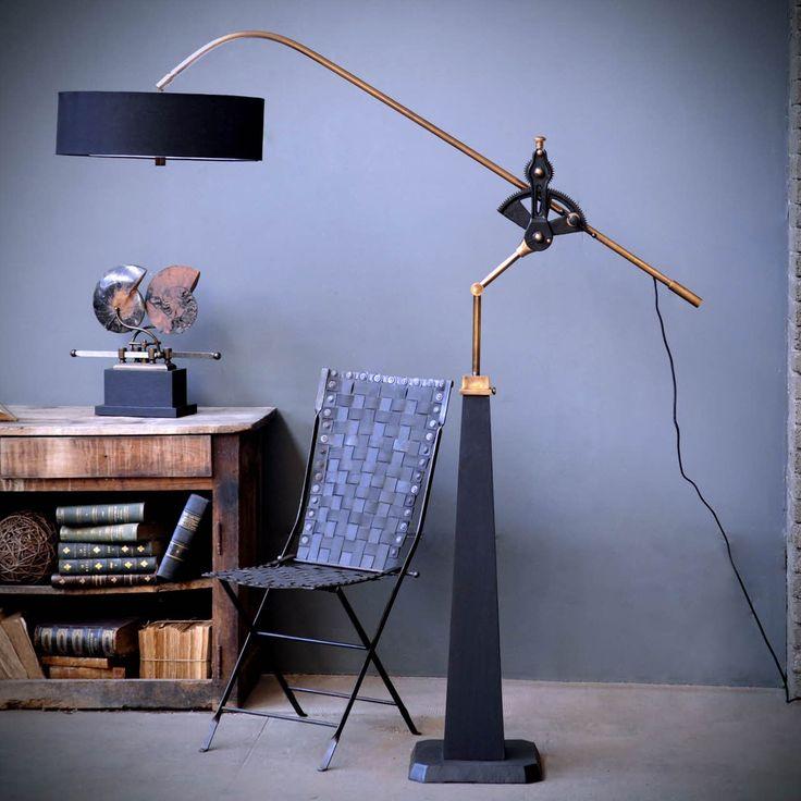 Objet de curiosité - Technical adjustable floor lamp 897,00 €