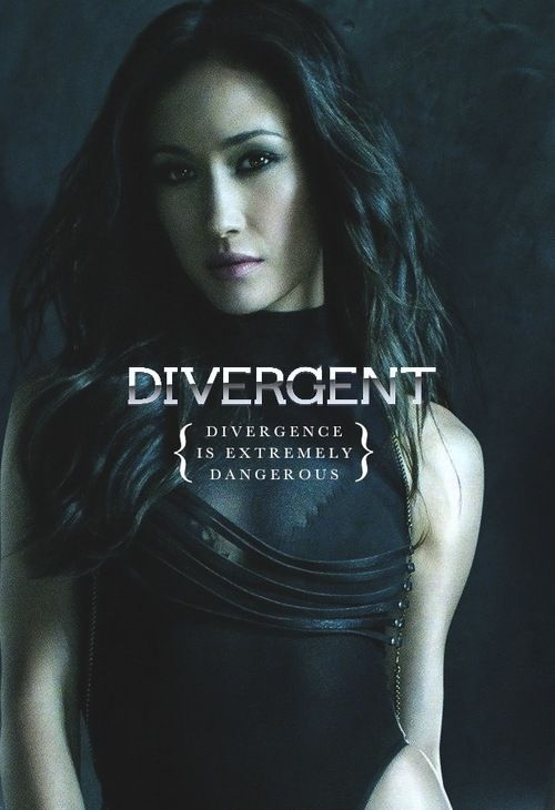 Divergent Movie~ Maggie Q as Tori.. I love Maggie Q!!! She is a perfect Tori!! :D