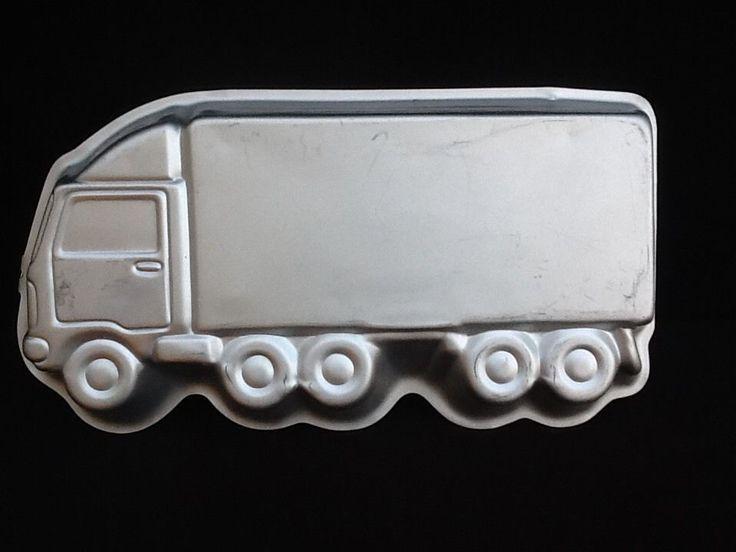Truck 18 Wheeler Semi Wilton 1986 Cake Mold #Wilton