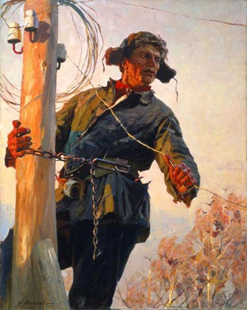 Shapaev, Feodor V. - The Collective Farm Electrician