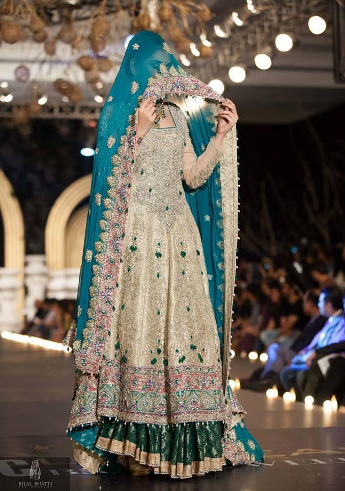 Color combinations for bridal dresses