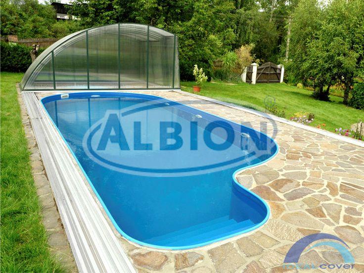 Нетипичной формы бассейн Albion Econ pools серии Fun.