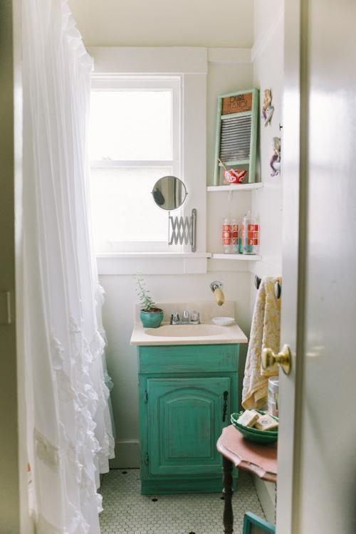 Las 25 mejores ideas sobre cuarto de ba o con lavabo de - Muebles de bano originales ...