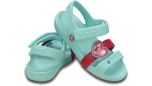 Love is in the air this spring— one of our lightest, easiest sandals gets a glittery, heart-shaped charm. The Keeley has unmatched Crocs comfort, and you'll appreciate the adjustable closure for easy-on and a secure fit. Free shipping on qualifying orders.