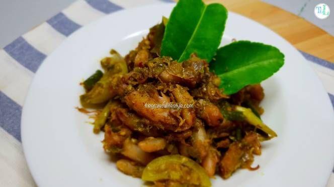 Resep Baby Cumi Asin Sambal Ijo Gurih Pedas Mantap Oleh The Grateful Lifestyle Resep Memasak Makanan Resep Masakan Indonesia