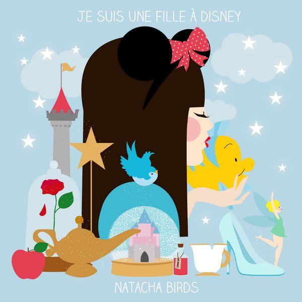 Je suis une fille à Disney.