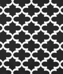 Premier Prints Fynn Black Fabric
