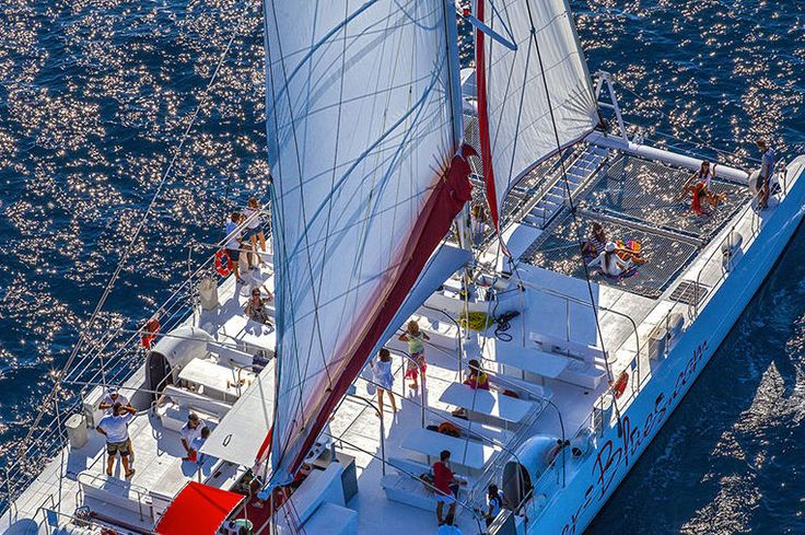 Taiti 80 Catamarn Tour