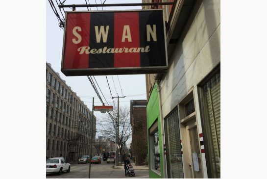 #socialaction - maybe they need some help from @leslievillebia. Swan's retro sign still beckons on Queen St. W. at Crawford St., but the restaurant abruptly closed this month after more than 17 years in business.