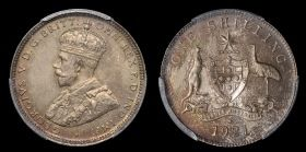 Of the six proofs produced, two reside in the Museum of Victoria, Melbourne (one from the A.M. Le Souef Collection, acquired direct from the Sydney Mint on its closure in 1926). Both of these are inferior in condition to the current specimen which has lain un-noticed in a private collection for decades. The cataloguers cannot trace any example of this coin offered for sale within the last 30 years