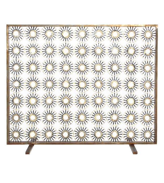 Marie Suri | Custom Fireplace Screens | Custom Andirons