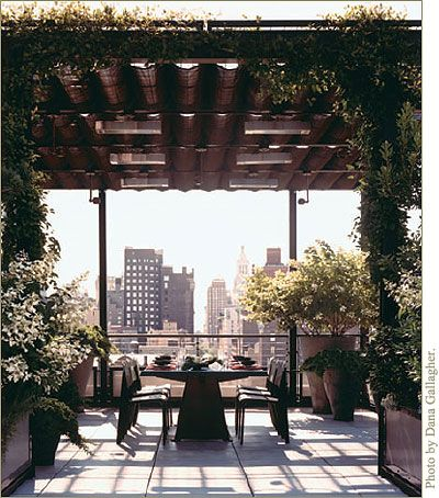 love this rooftop terrace