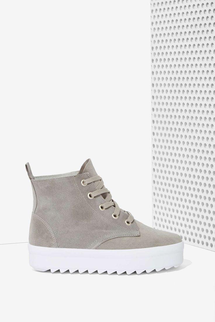Shellys London Tread Suede Sneaker