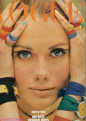 Vogue sept 66 - striped rings