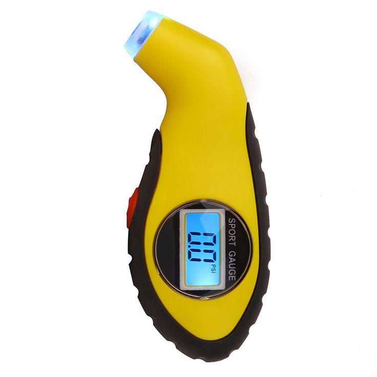 Samochód Cyfrowy Miernik Ciśnienia W Oponach Opon Motocyklowych Podciśnienie Narzędzia Diagnostyczne Stylus LCD Elektroniczny Manometr Powietrza Dla samochodów