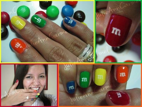 m's Chocolate Candy - Nail Art Gallery by nailsmag.com