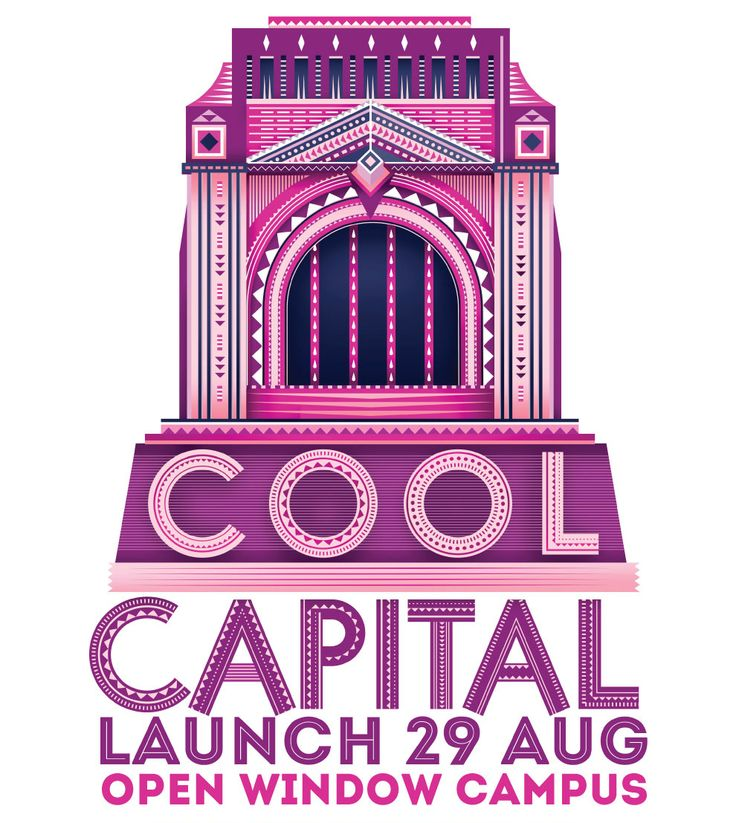 Cool Capital Biennale Launch 2014 hosted at Open Window Institute's campus. Design by Louis Minnaar & Werner Burger.