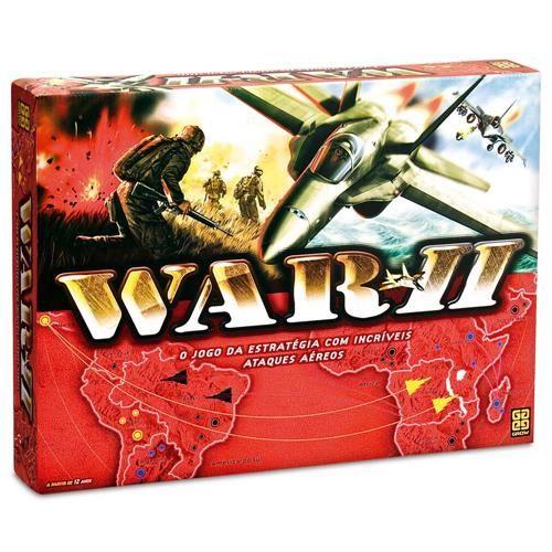 Ponto Frio Jogo War Ii Grow R 89 00 A Vista Jogos Jogos De Estrategia Jogos De Tabuleiro